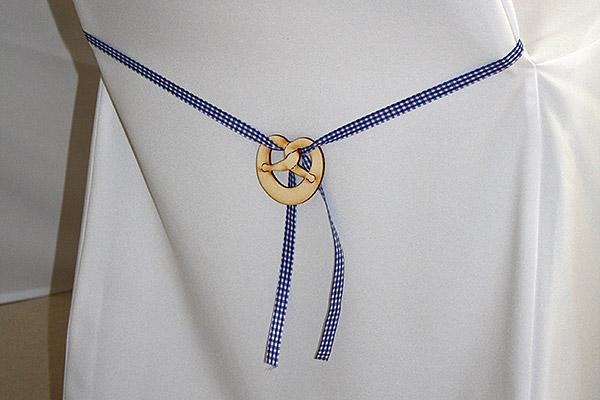 Schleife mit Brezn Emblem