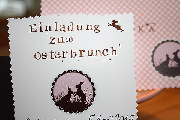 Osterbrunch EInladung