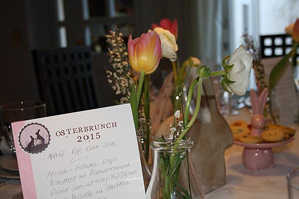 Osterbrunch Menue